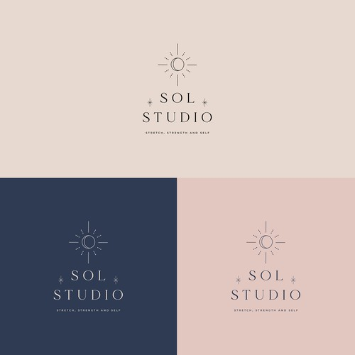 Sol Studio logo design