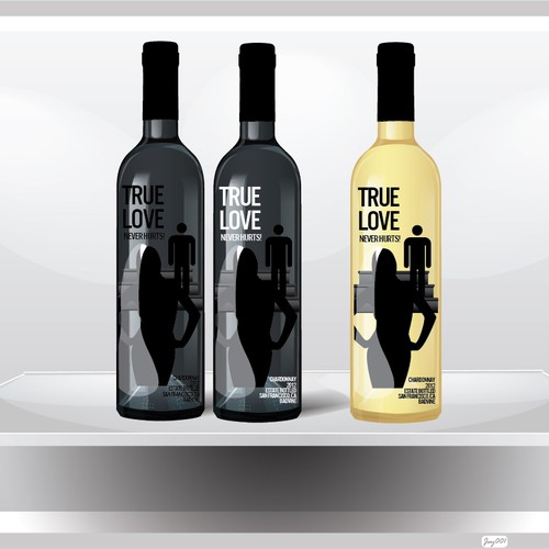 Bold Wine Label