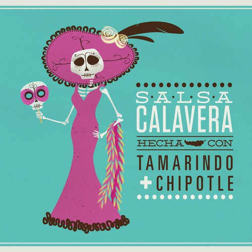 Help Calavera Sauce create an exciting label!
