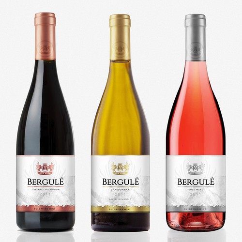 Redesign of Bulgarian Wine Bergule - Connecting tradition and elegance
