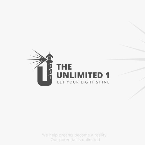"Logo for a new movement ""The Unlimited 1"""