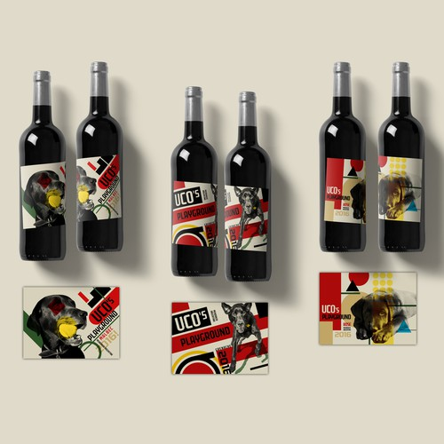 Fun Label to Uco's Playground Wine