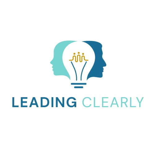 Creative logo for Leading Clearly