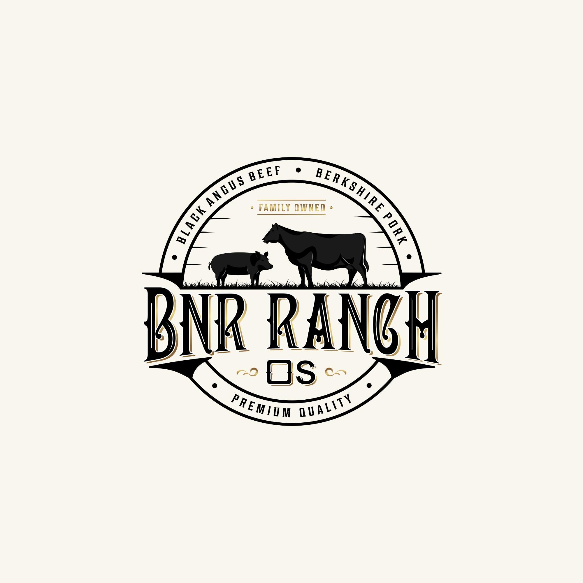 BNR Ranch needs a creative classic logo!