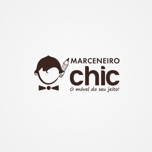 Marceneiro Chic logo design