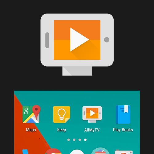 Allmytv (TV streaming app) product icon
