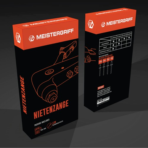 Nietenzange product package