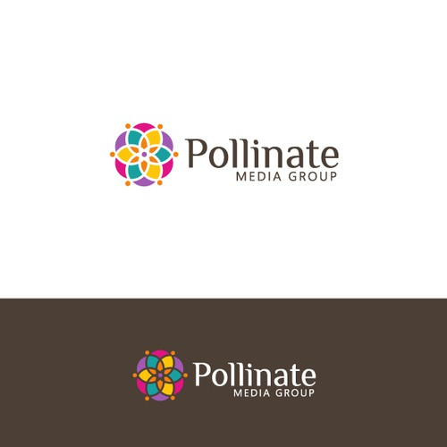 logo for Pollinate Media Group