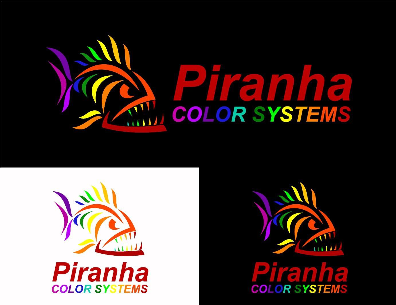 logo for Piranha Color Systems