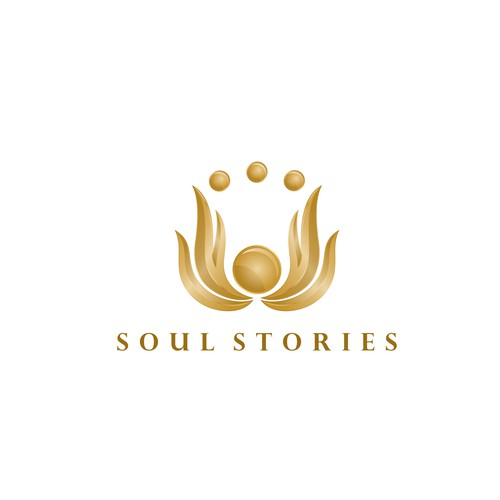 egyptian influenced logo for Soul Stories