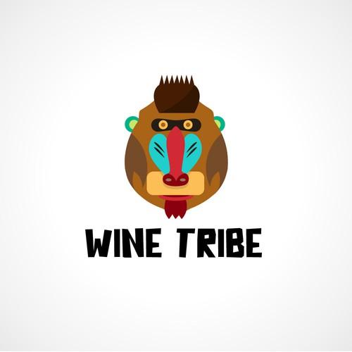 Wine brand illustration