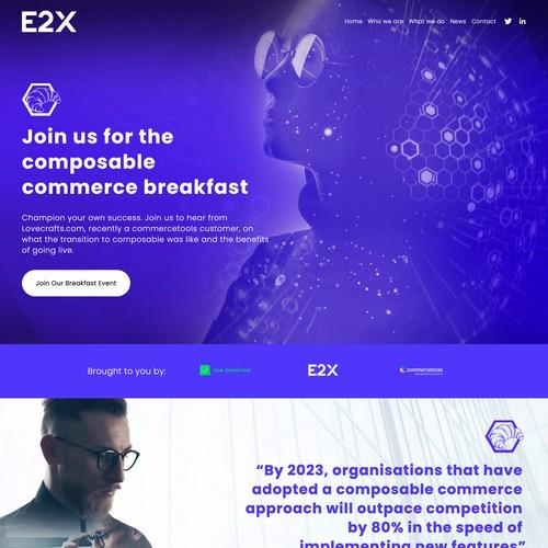 e2x Commerce Breakfast