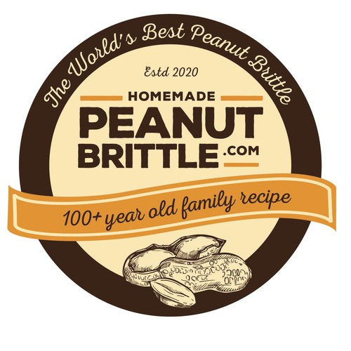 Brief: A vintage looking candy logo that will stand out on labelling and more....