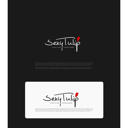 "SEXY - Create a fun logo incorporating a tulip for ""Sexy Tulip"" - Furniture and Homewares"