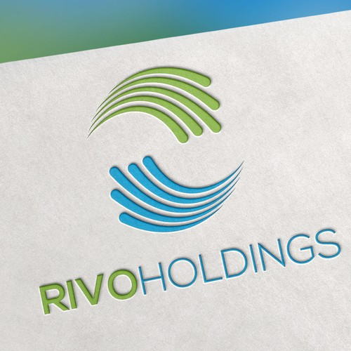 Logo design for Rivo Holdings