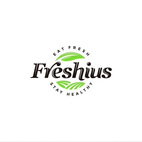 Logo concept for grocery products