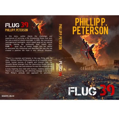Cover design for flug 39. Finalist
