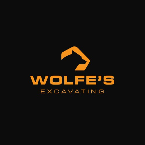 Logo Concept for Wolfe's Excavating || Available