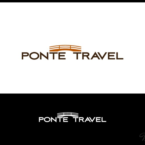 Create the next logo for Ponte Travel
