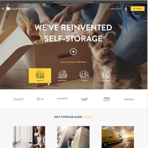 Second Closet eCommerce Design
