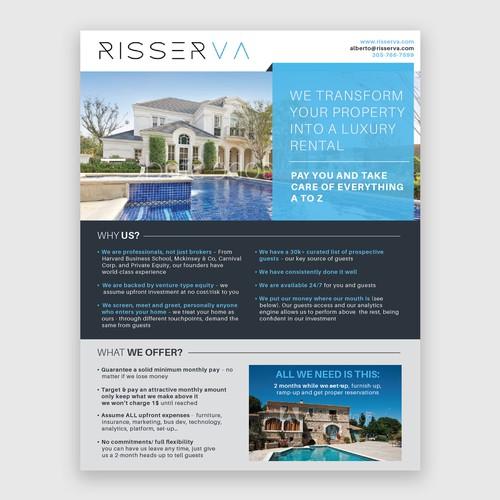 Risserva Powerpoint Flyer