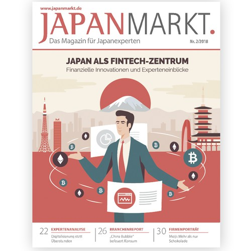 Ilustration cover magazine