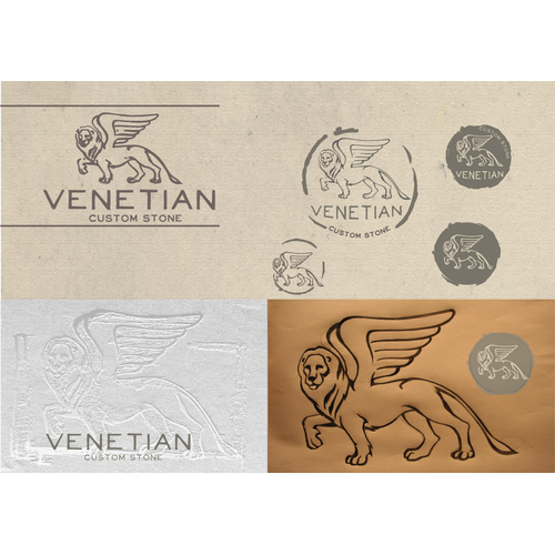 New company, Venetian Custom Stone, seeks bold designers for our logo.