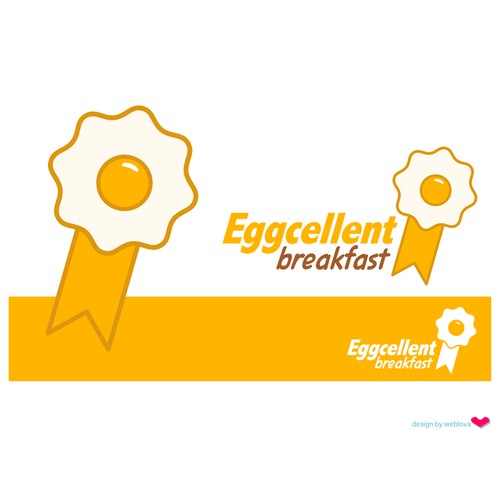 Eggcellent Breakfast logo design