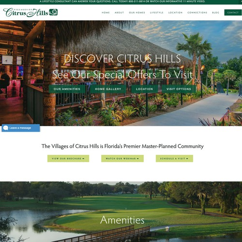 The Villages of Citrus Hills - A Residential Builder Selling 55+ Homes In Hernando, Florida