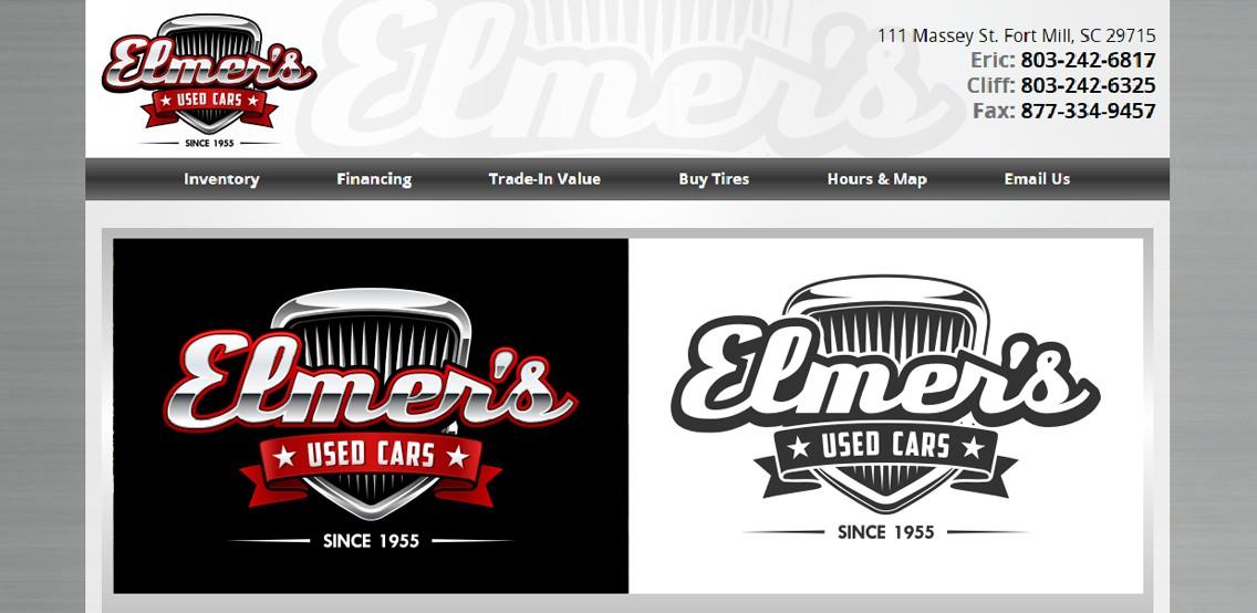 Logo for Elmer's Used Cars