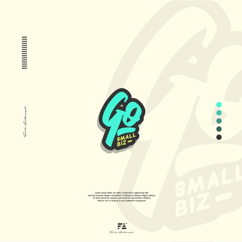 Go Small Biz Logo Concept