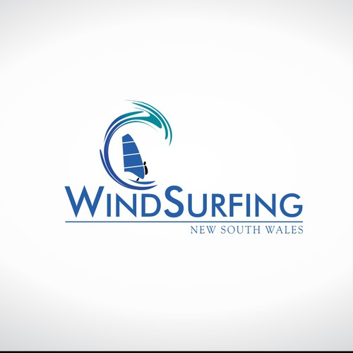 Create a cool logo for a windsurfing organisation