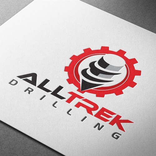 Winner logo to All Trek Drilling