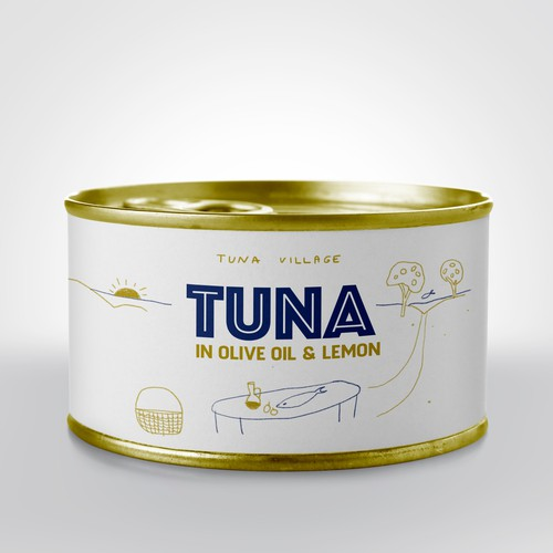 Tuna Packaging design