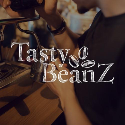 Hipster Coffee Shop Logo Concept