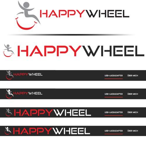 Winning logo for Happy Wheel