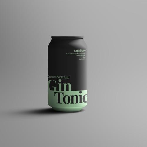 Sophisticated beverage package design