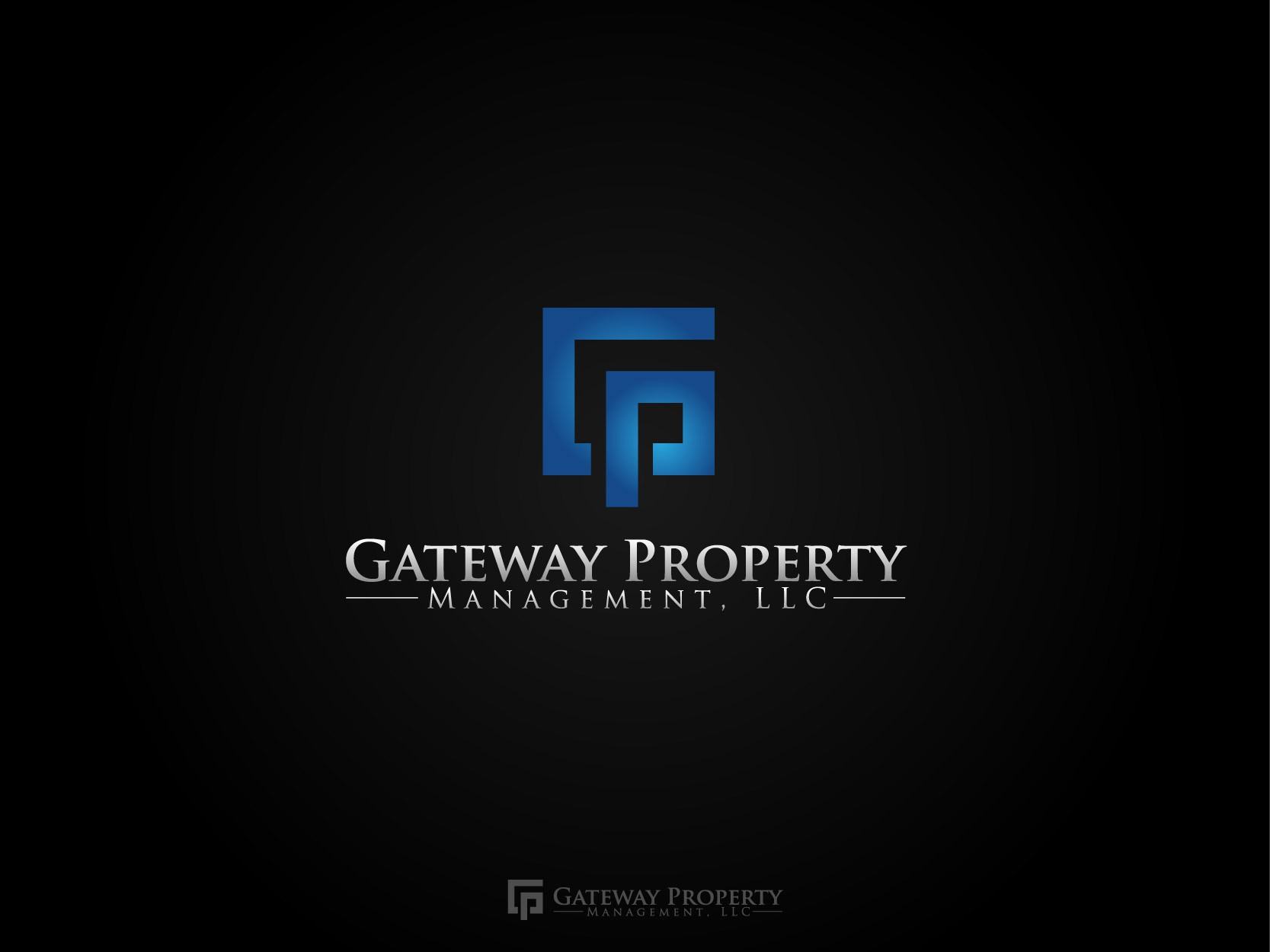 Help Gateway Property Management, LLC with a new logo