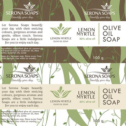 Natural Artisan Soap Label