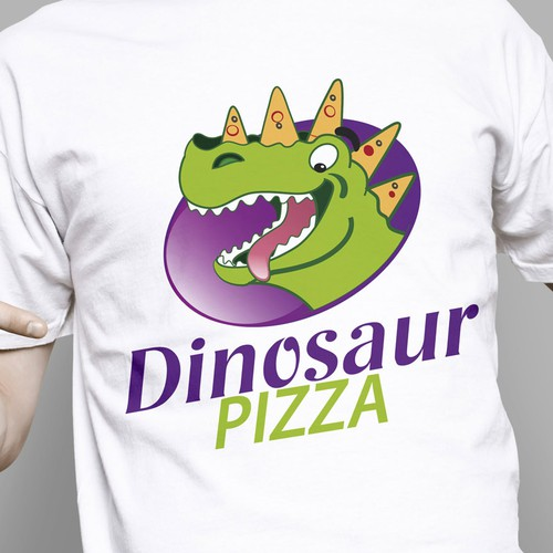logo for Dinosaur Pizza