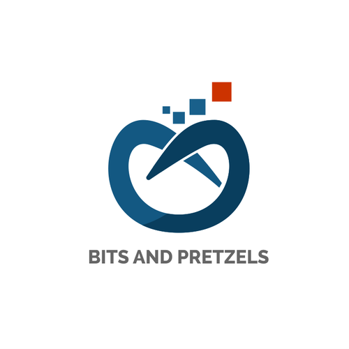 Logo concept for Bits and Pretzels