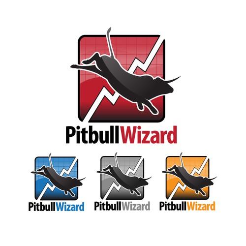 Logo Design for Pitbull Wizard