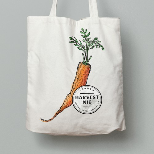 Tote & Jute Bag design