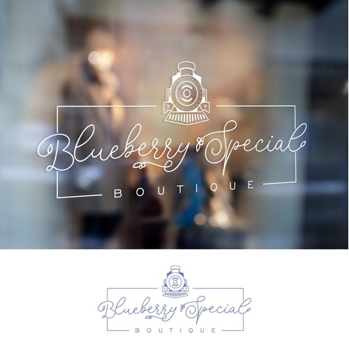 Logo for blueberry special boutique
