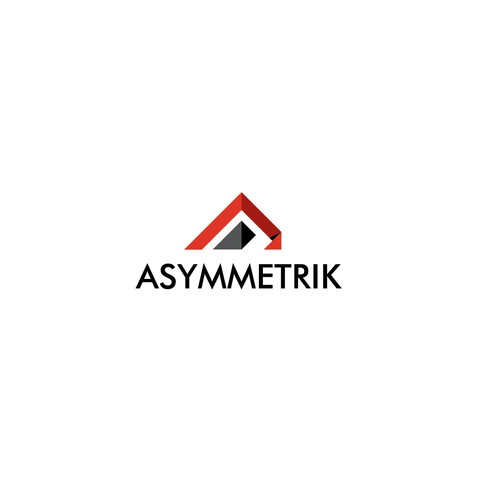 Create a moden logo for Asymmetrik