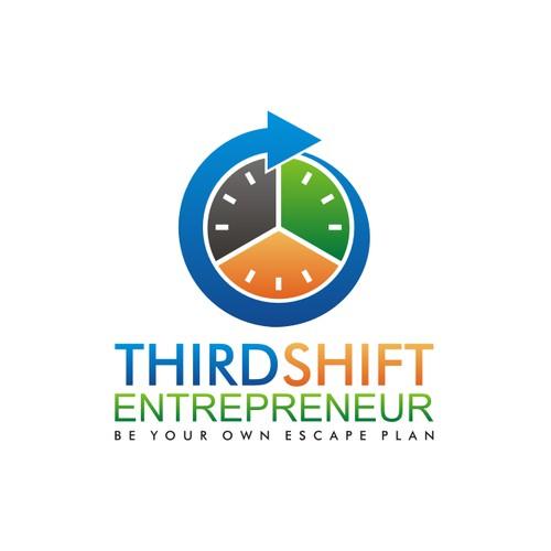 Third Shift Entrepreneur Logo Contest