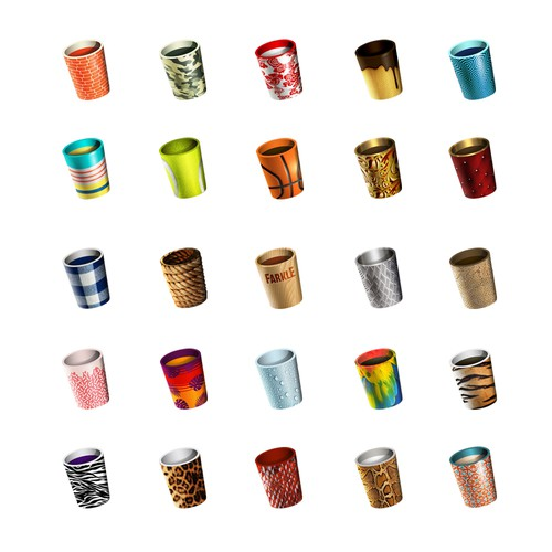 50 dice shakers