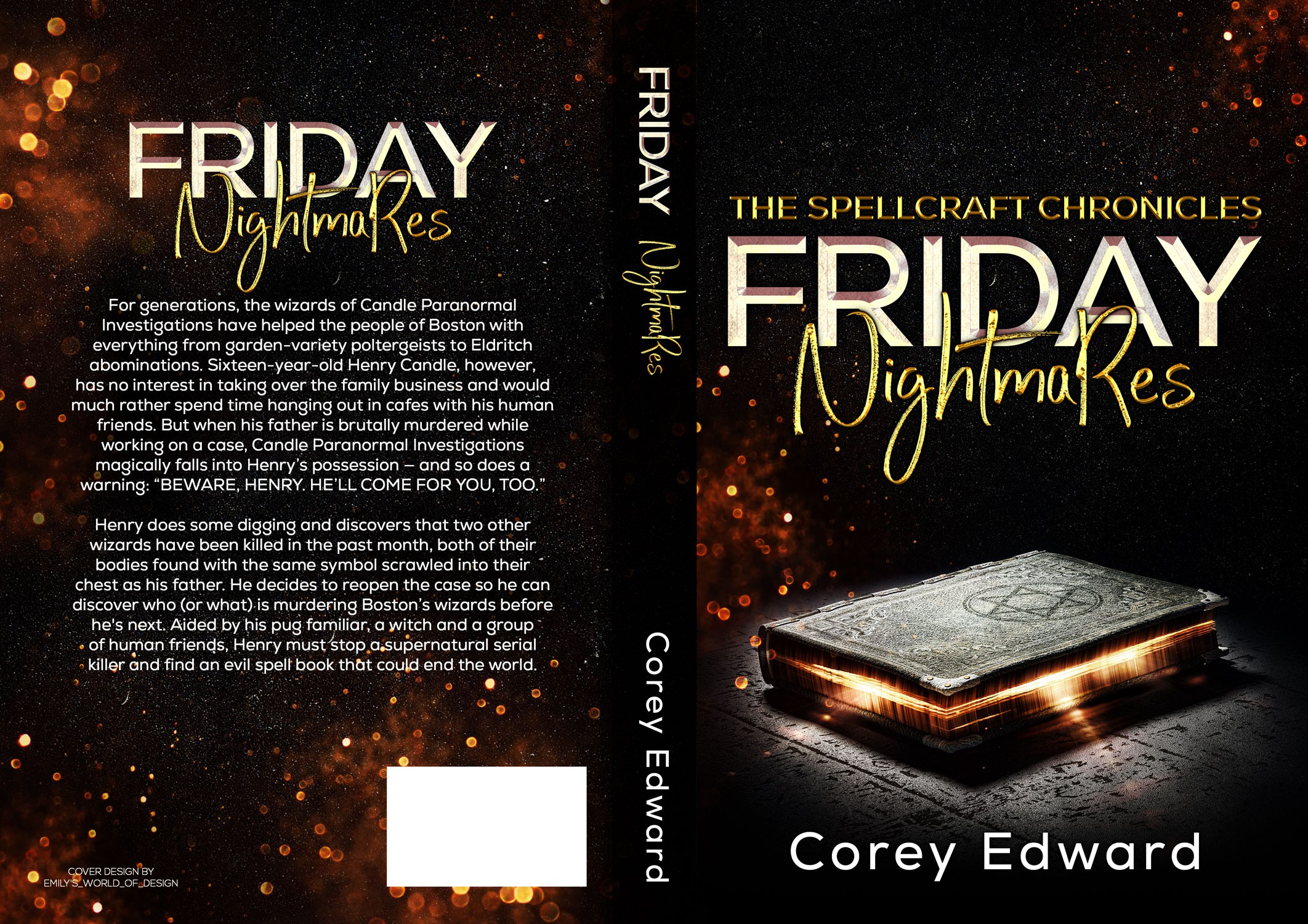 ebook and print cover design
