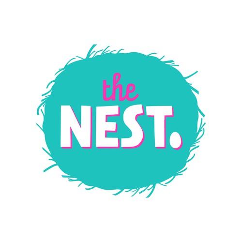 'The Nest' housing development logo