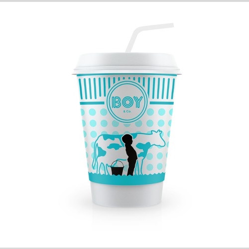 Help us create one of a kind packaging for new milkshake bar, BOY & Co.